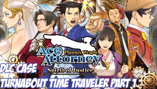 Ace Attorney 'Turnabout Time Traveler' DLC episode now available