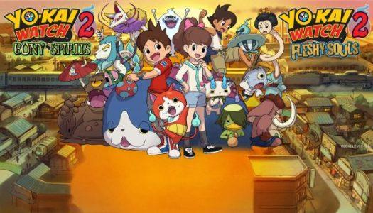 Nintendo Download Sep 29, 2016 – Yokai Watch 2, Sonic Boom, Azure Striker Gunvolt 2