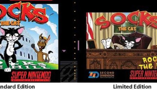 Contest Reminder: Win Socks the Cat (SNES)
