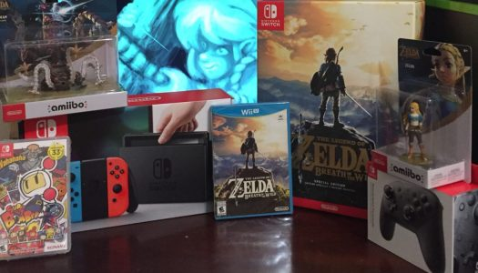 Nintendo Switch and Breath of The Wild Special Edition Unboxing