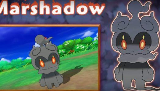Pokemon Sun and Moon Trailer Reveals Marshadow