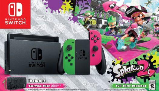 PR: Nintendo Switch Splatoon 2 Edition Bundle Heads Exclusively to Walmart Stores