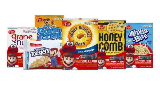PR: Nintendo and Post Consumer Brands Team Up for a 'Super' Cereal Promotion