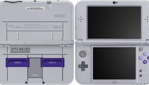 Super Nintendo-themed 3DS XL coming to the US next month