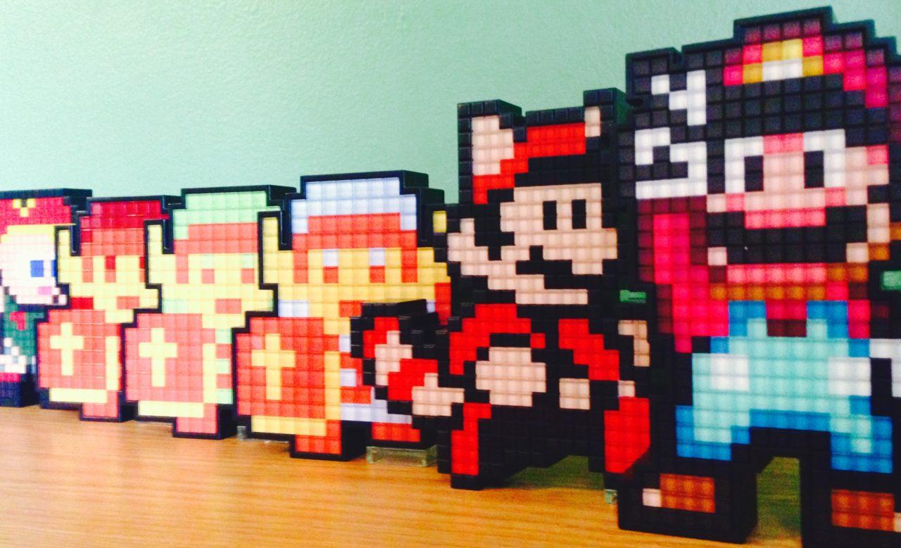 Pixel Pals A Retro Light Show Pure Nintendo