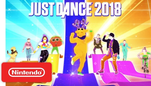 Check out the Just Dance 2018 tracklist