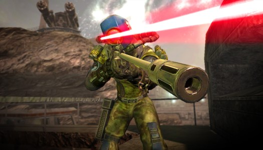Rogue's back in Rogue Trooper Redux, out now on Nintendo Switch