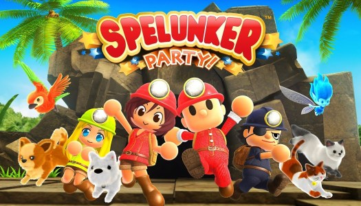 Spelunker Party demo now available on the Nintendo Switch eShop