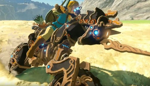 Zelda: Breath of the Wild Champions Ballad DLC available tonight!