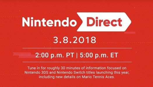 New Nintendo Direct Airing Tomorrow, March 8 at 5pm ET