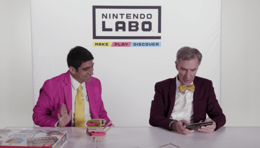 Bill Nye – Hands on with Nintendo Labo