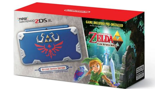 Nintendo reveals Hylian Shield New 2DS XL