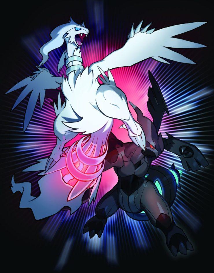 Reshiram and Zekrom October Legendary Pokemon