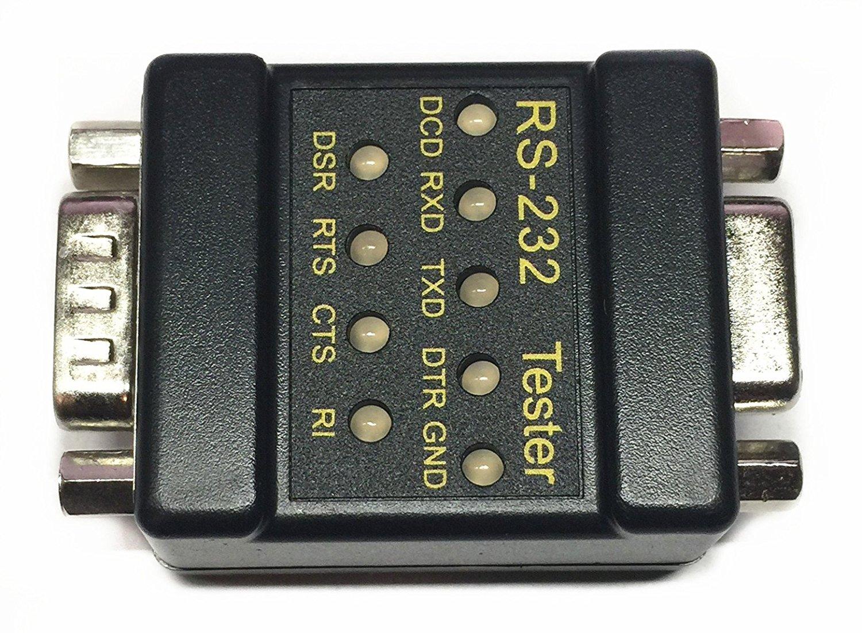 Ezsync Rs232 Mini Tester With Led Indicators Db9 Male To Db9 Female Ezsync911 Serial