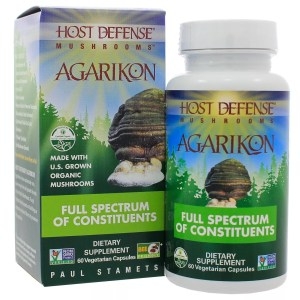 Agarikon Organic Mushrooms, Host Defense