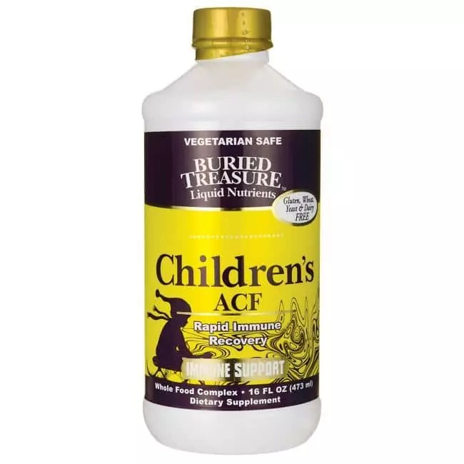 Buried Treasure Children's ACF Immune Support | Pure On Main