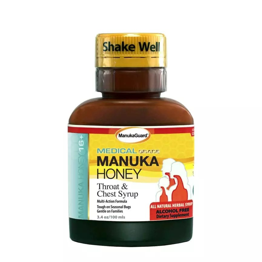 Manuka Honey Throat & Cough Syrup