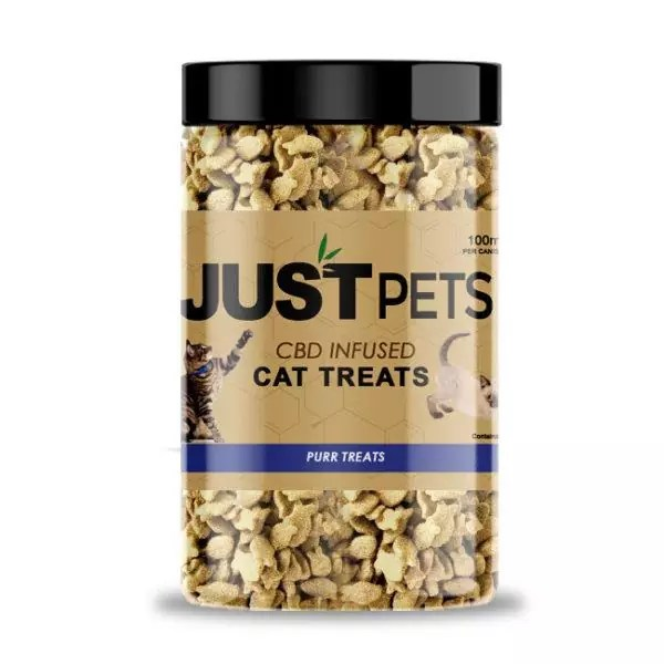cbd cat treats created by Just CBD