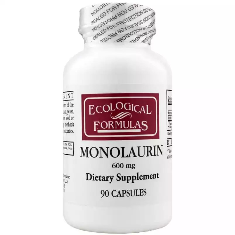 Ecological Formulas | Monolaurin 600mg