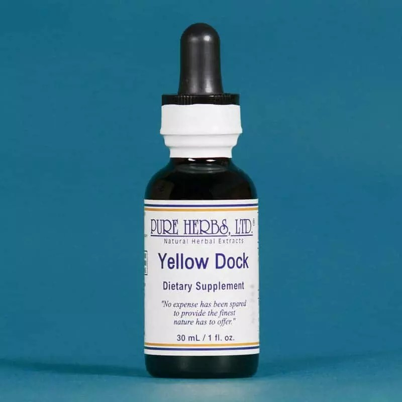 Yellow Dock Dietary Supplement, Pure Herbs