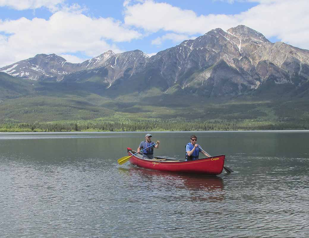 Canoe Sales and Rental in Jasper National Park Alberta