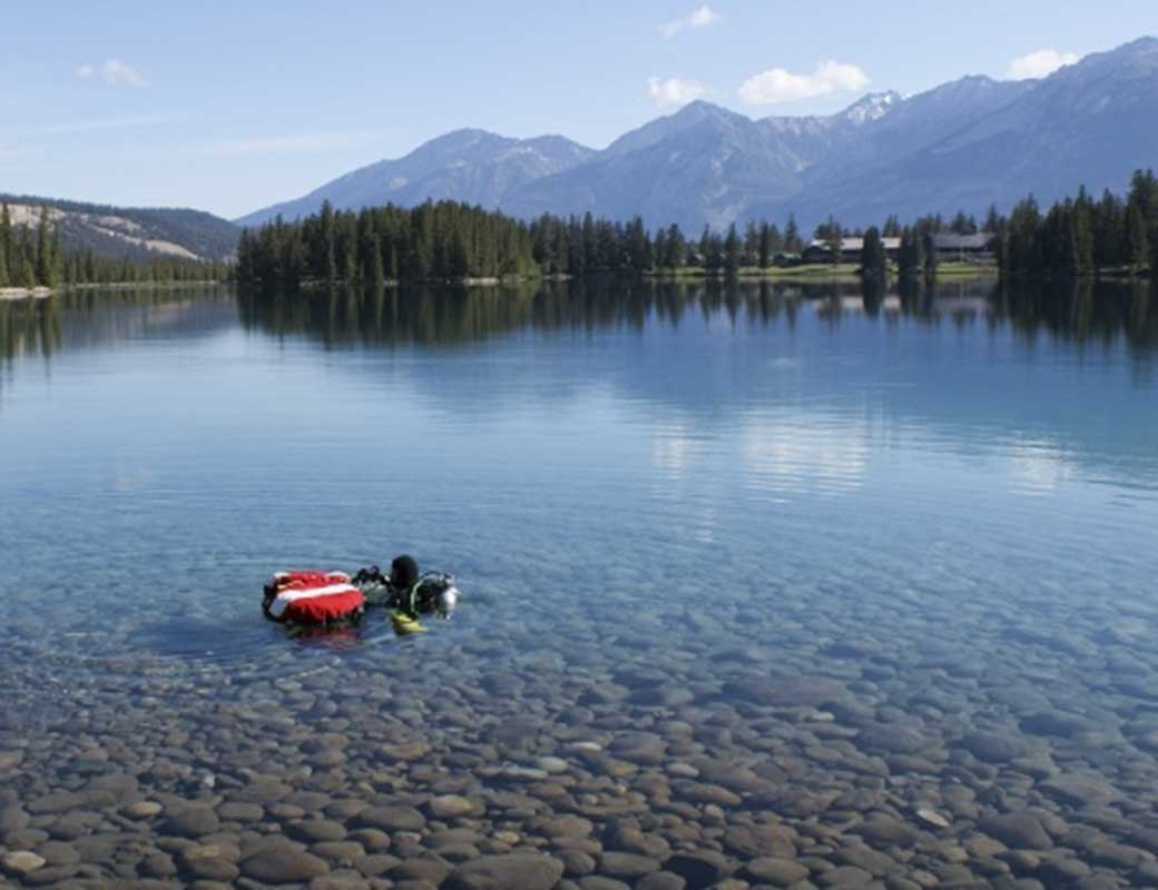 Diving Tours in Jasper National Park Alberta