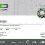 IC3認定証