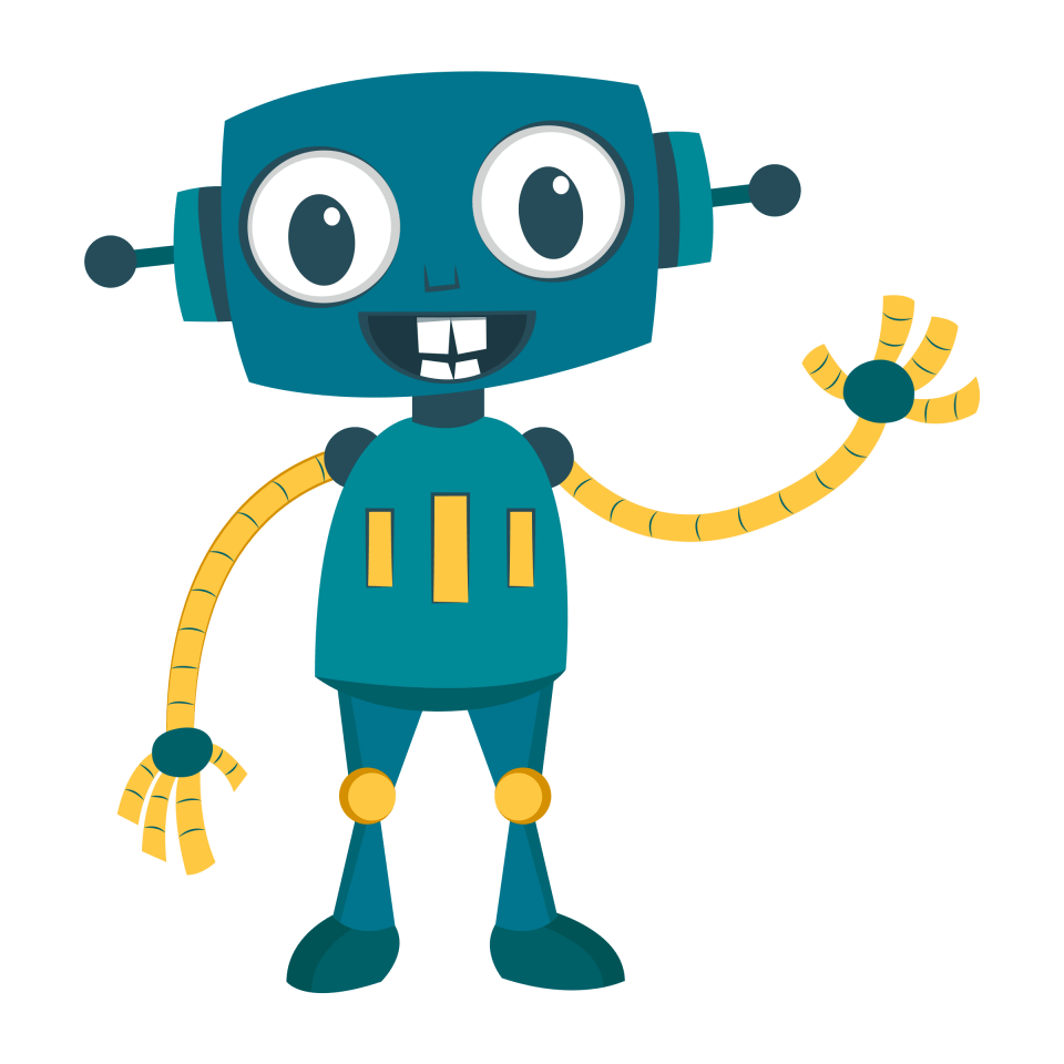 Robot Skull Transparent