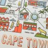 Pure Designer Products foiled Cape Town Illustration A4 poster
