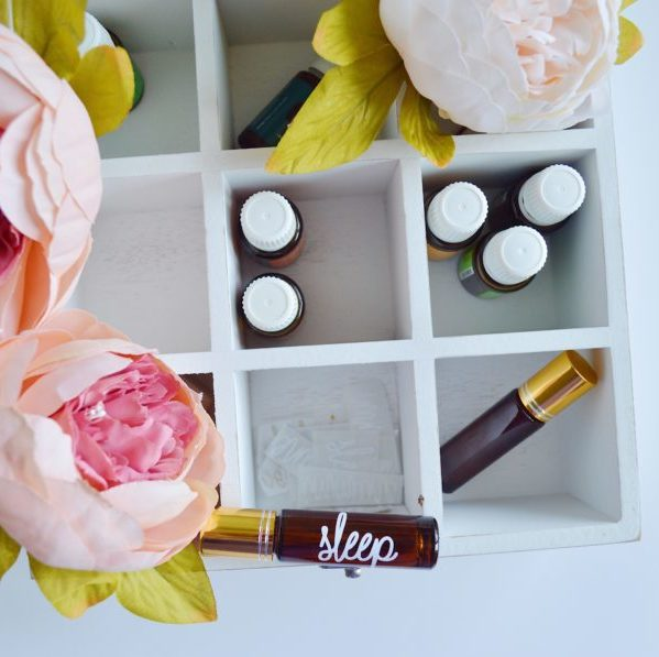 Essential oils bespoke gift box