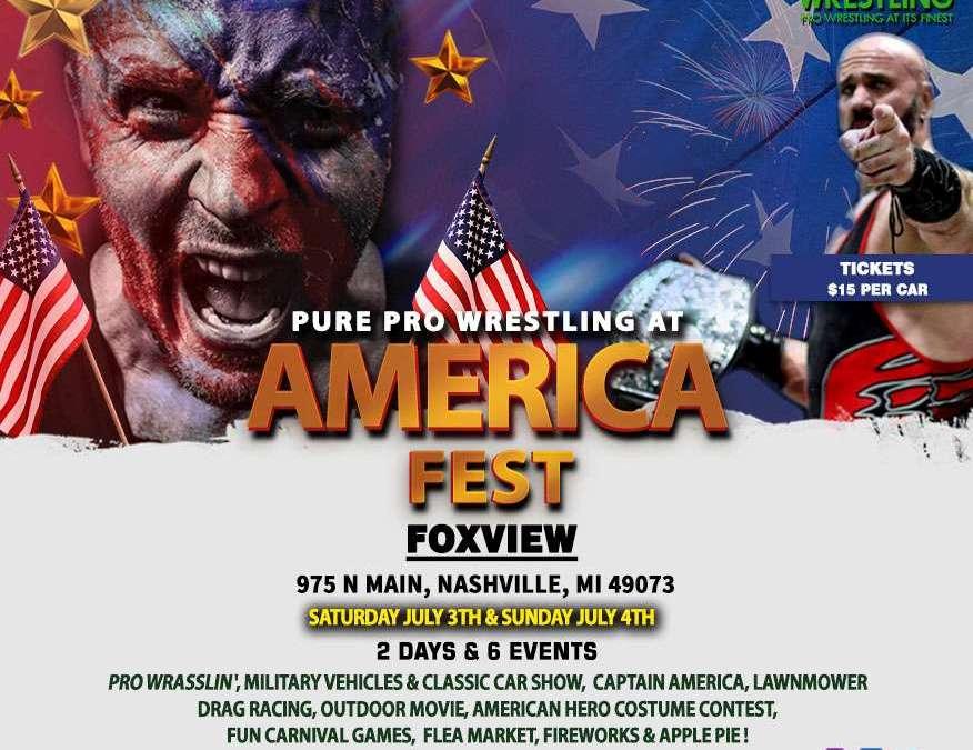 PPW Live At America Fest In Nashville, MI
