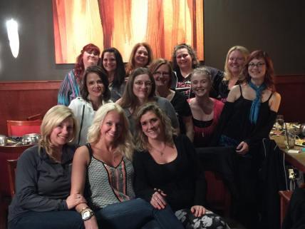 "Bliss Beauties ""Daughters"" dinner"