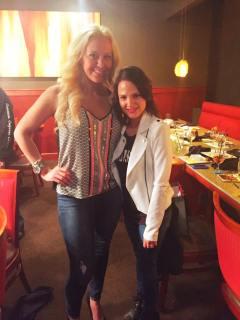Me + my gorgeous sponsor, Nikki Hughes, Executive Director w/ Pure Romance