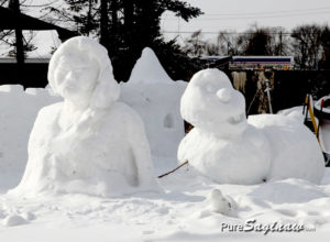 Snow Sculptures Saginaw