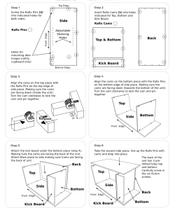Instruction Manuals Furniture