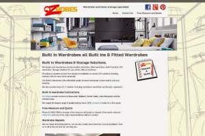 Wardrobe Contractor Wordpress Design