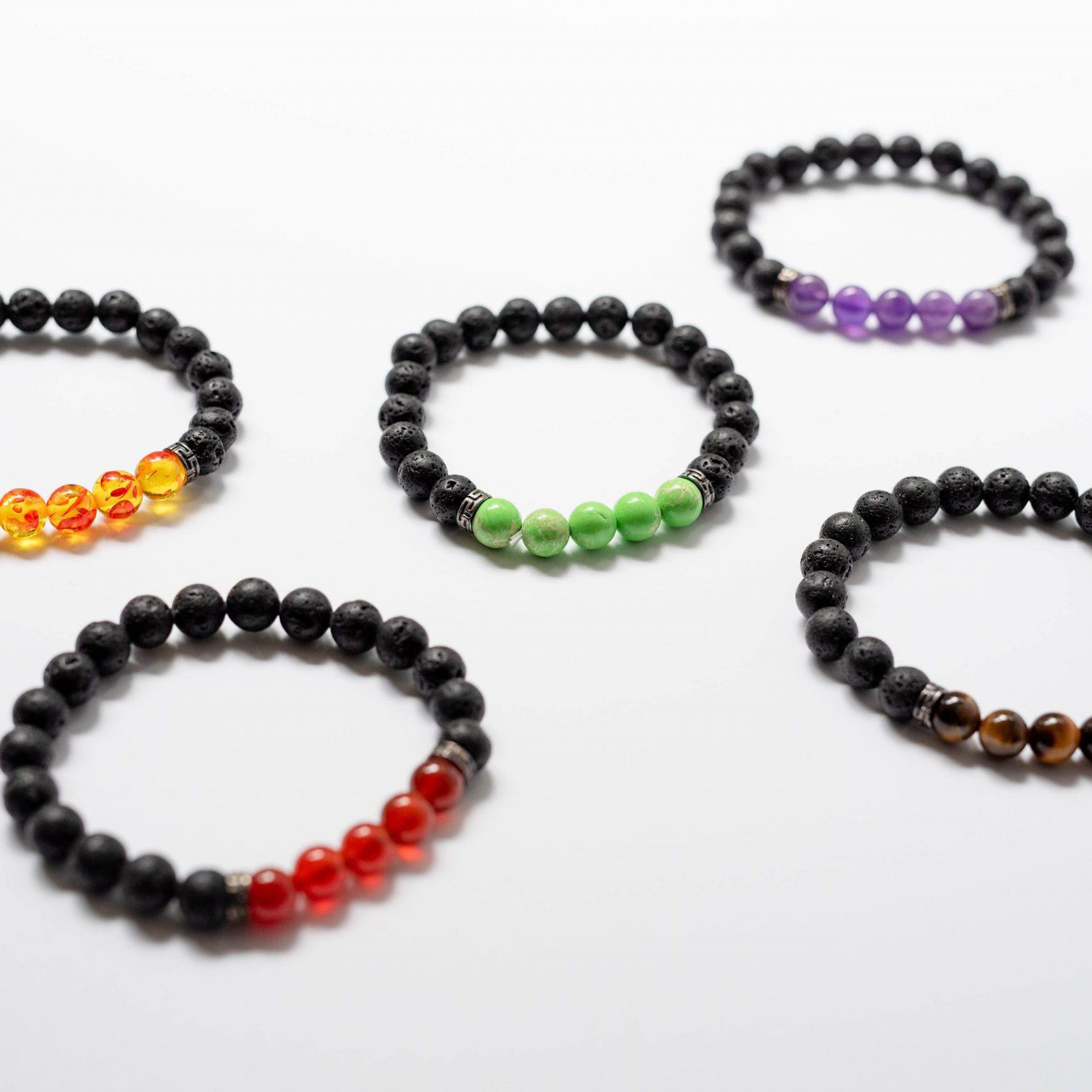 lava stone bracelets