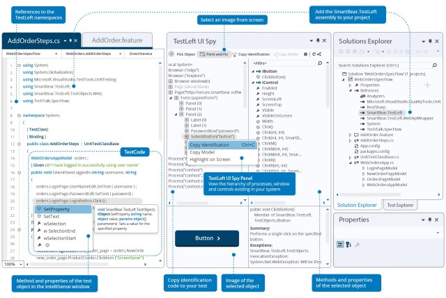 TestLeft Simplifies the Creation of UI Test Automation as You Code