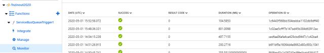 Azure Function Monitor