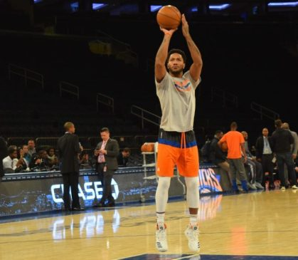 (Photo Credit: Barry Holmes) Derrick Rose has been a key to the Knicks' early success.