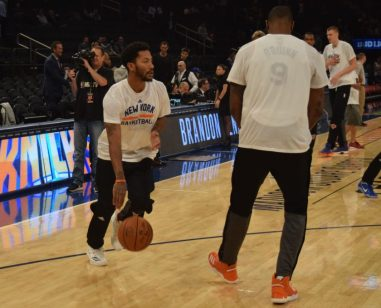 (Photo Credit: Barry Holmes/PureSportsNY) Rose has played well since joining the Knicks this season.