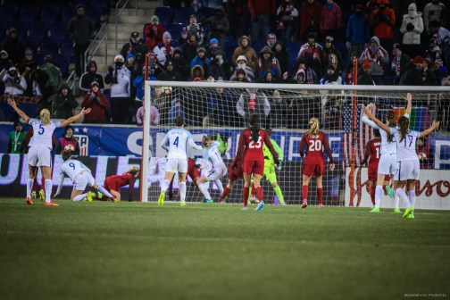 England Goes up 1-0 in the 89th Minute. Photo (Bobby O'Hara/ PureSportsNY)