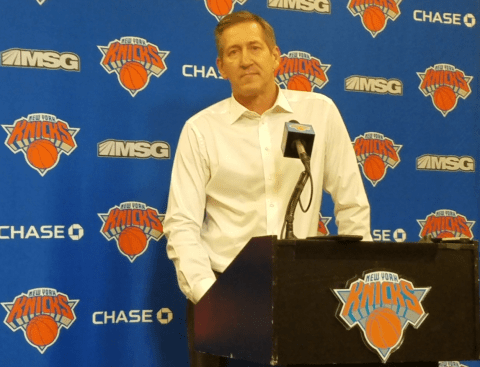 (Photo Credit: Barry Holmes) Coach Hornacek spoke following a loss to the Bucks.