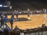 Dirk Nowitzki warming up (Photo Credit: Ponyx Chery)