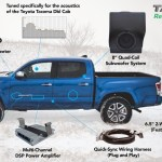 Oem Audio Plus Stereo Kit Reference 500 2016 Toyota Tacoma Dbl Cab Tyt Tcd Ref504 1600 1 599 00 Pure Tacoma Parts And Accessories For Your Toyota Tacoma