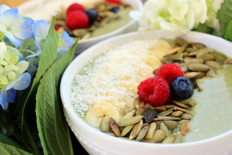Sunwarrior Spring Detox Smoothie Bowl