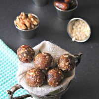 Dry Fruit Balls ~ Snack for Pregnant women and Lactating moms