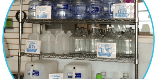 BPA Free bottles