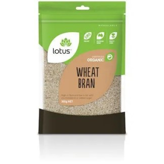 Lotus Organic Wheat Bran 300g NET