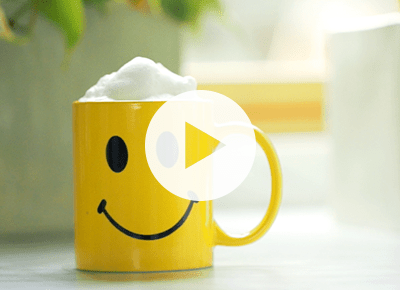 how to foam milk in the microwave
